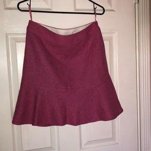 Gap Women Pink Wool skirt